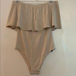 Other - Tan Bodysuit